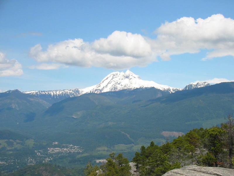 Garibaldi Mountain from the Chief.