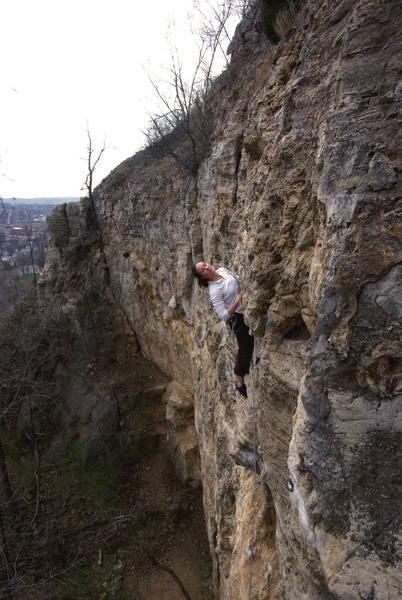Lana Nysse on the finishing moves. Spring, '07.