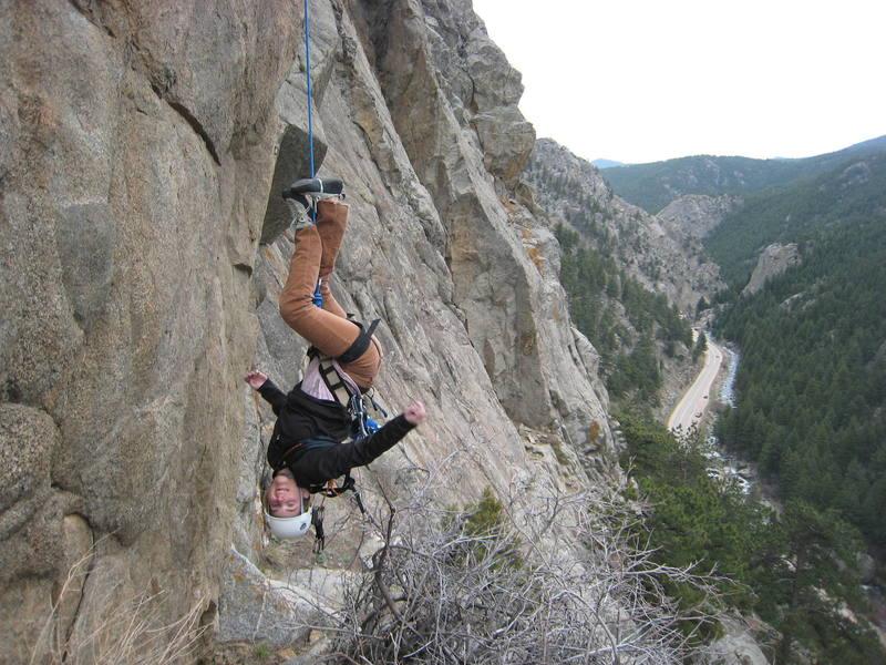 End Of The Climb Fun!