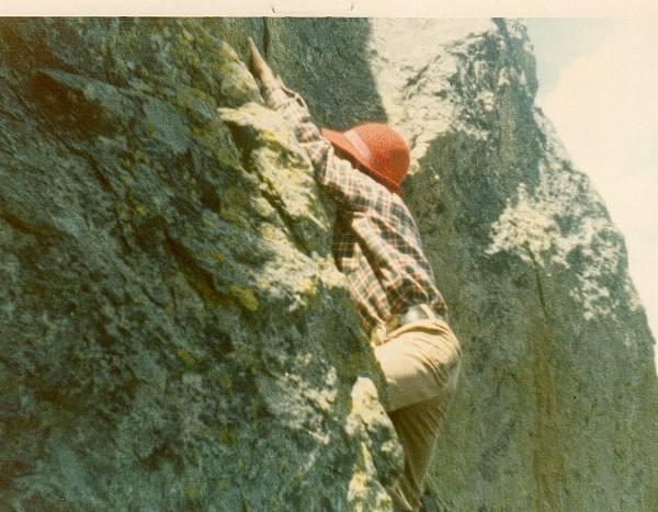 """Bouldering"" in RNM 1973"