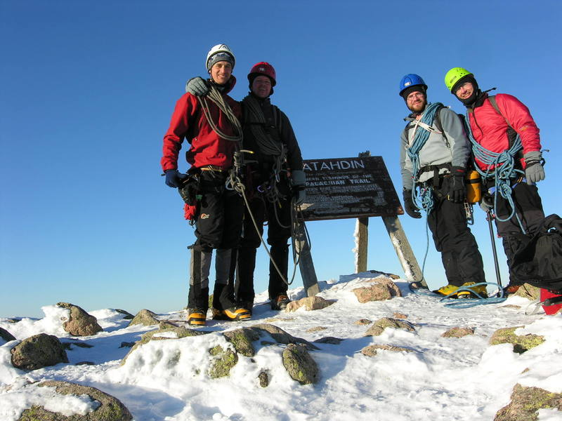 Blue Sky, great friends, one of the best climbing days (or any other day for that matter) I've ever had.