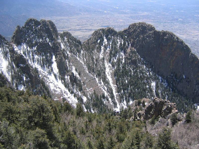 Upper La Cueva Canyon on 28 April 2007