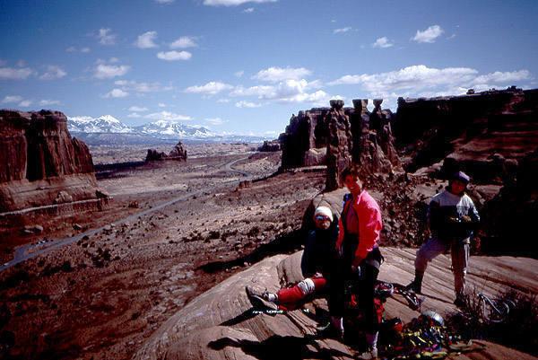 At the Summit, Cyndie Bransford, Dave and Margie Evans.<br> Photo by Todd Gordon.