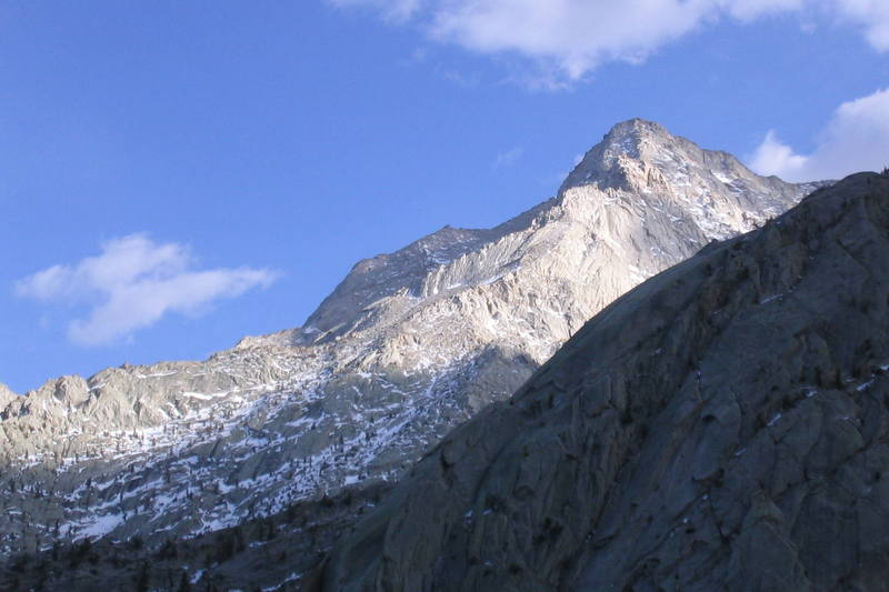 Lone Pine Peak: taken from Whitney Portal.