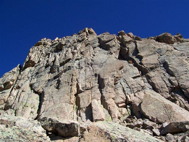 Crag in wilderness area.  Highly featured granite.  Situated at 11,000 plus feet.  Untouched.  1 pitch.
