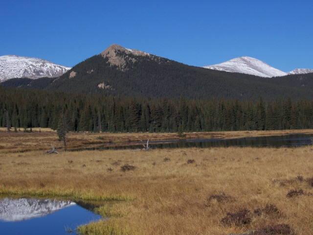 Camping spot views.