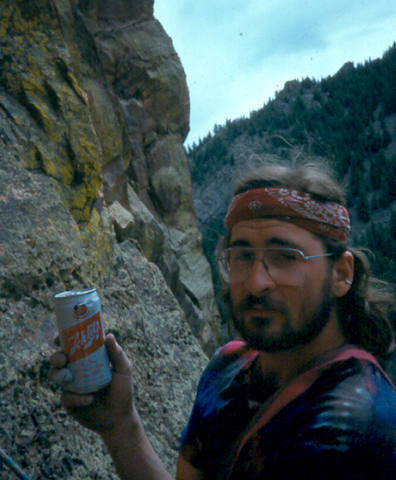Two time Mt. Everest summitter and all around hard core clubber Ken Sals.