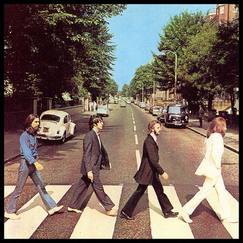 """""""Abbey Road"""" by The Beatles."""