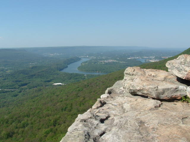 The view from the overlook