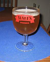 My namesake beer glass