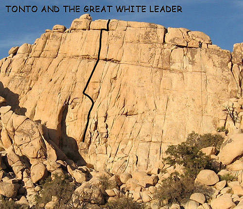 """""""Tonto and the Great White Leader"""".<br> Photo by Blitzo."""