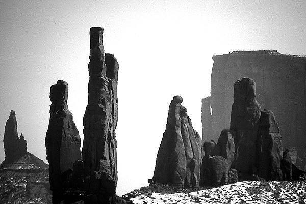 Towers-Monument Valley.<br> Photo by Blitzo.