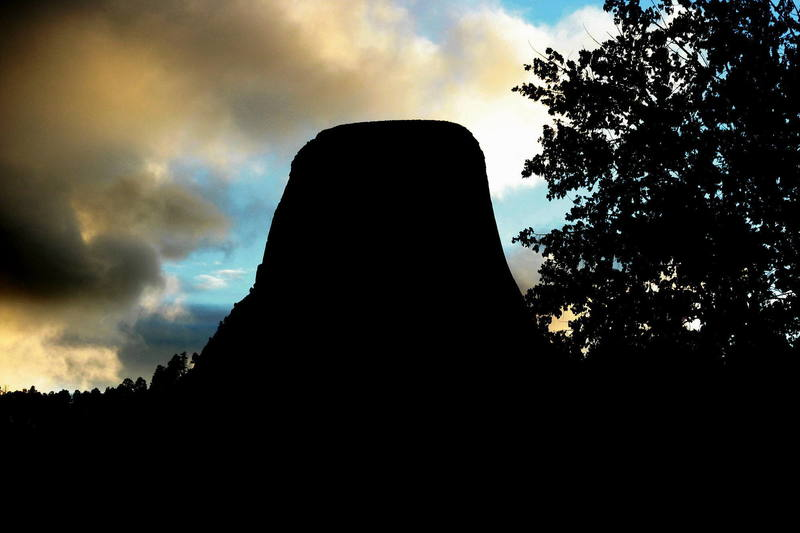Yet another Devils Tower Sunset...