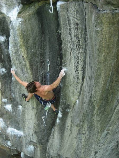 Jay Knower sticks crux number two (out of five) on Cold War.