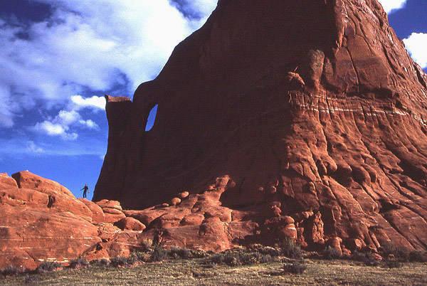 Window Rock III.<br> Photo by Todd Gordon.