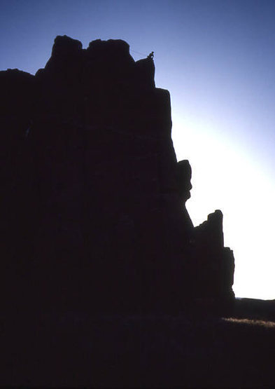 Sunset at The Crags.<br> Photo by Todd Gordon.