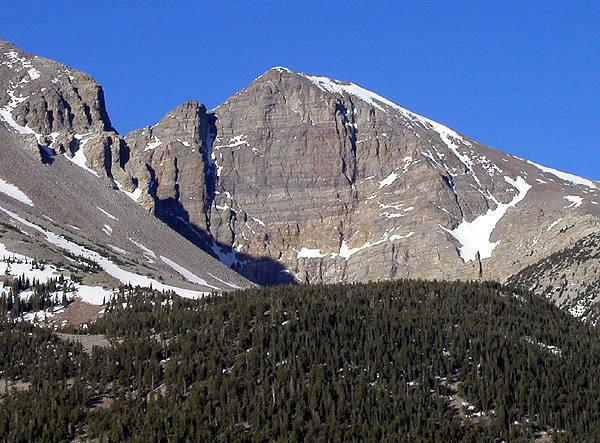 Wheeler Peak.<br> Photo by Blitzo.