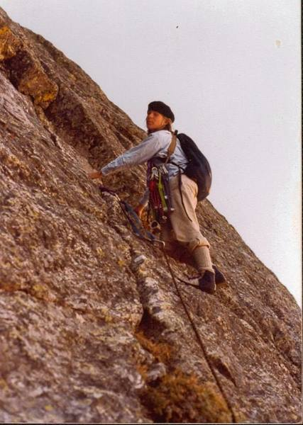 A 15 year old me on Jackson-Johnson, and I still use the gear sling to this day 29 years later.<br> <br> Photo by Chuck Grossman.