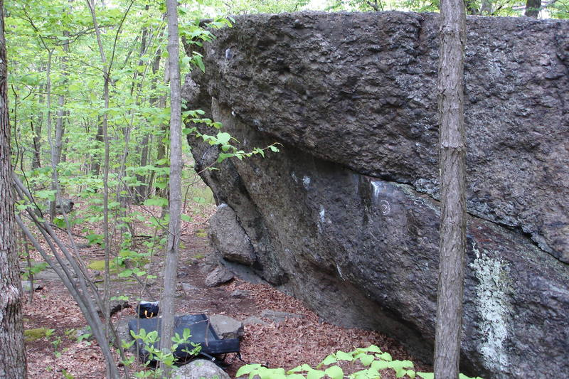 Reefer Madness, a four-star V1 at the Temple Overhangs.