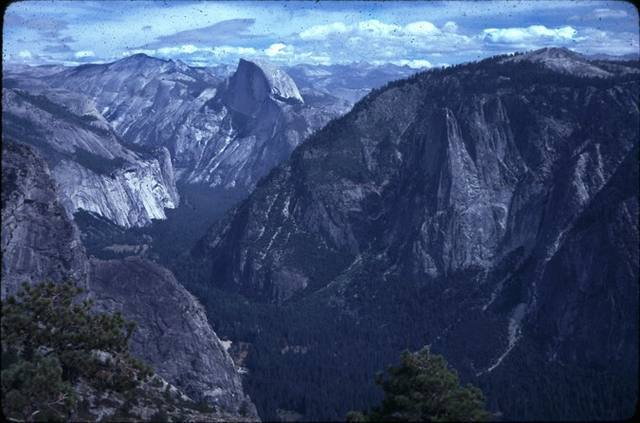 The incomparable view you get of Half Dome and the high Sierra when you top out on the 'captain.