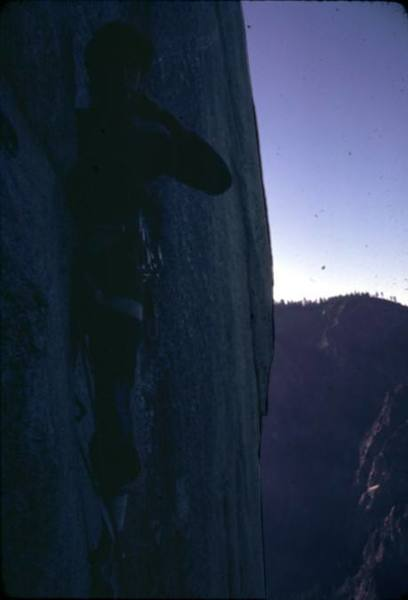Who knows where, just take it for granted, it was somewhere in the sea of El Capitan.