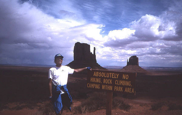 No Climbing!<br> Photo: Todd Gordon collection.