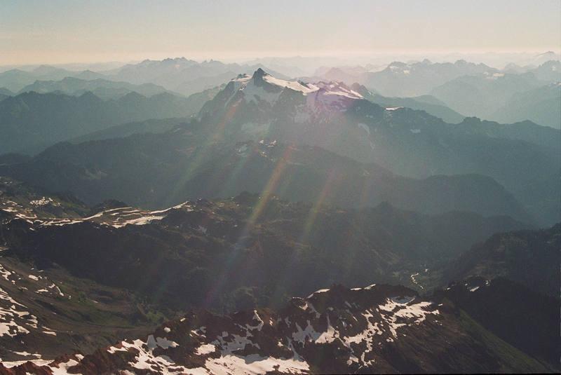 Mt. Shuksan taken from the Summit of neighboring Mt. Baker