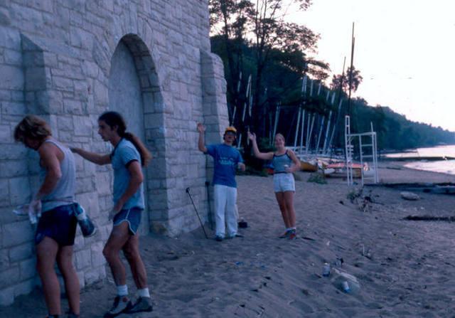 the DLFA at Glenco Beach.