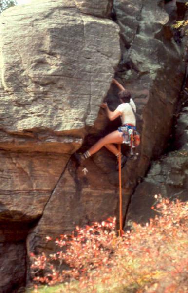 Leo H. actually climbing at Necedah.