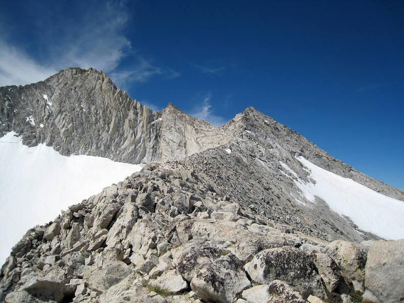 The North Ridge of Mt. Conness