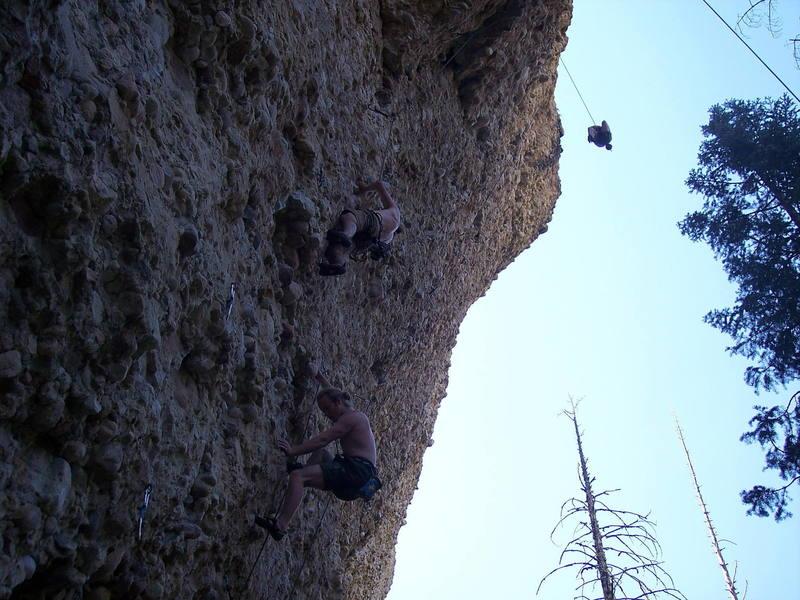 popular place - the minimum crag