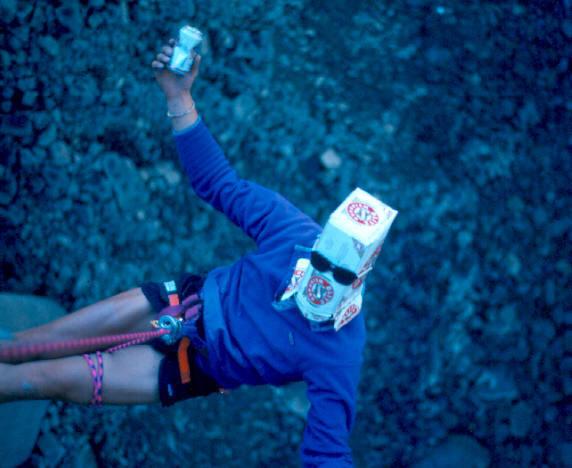 U.F.C. = unidentified fuk-nes clubber...bridge jumping.