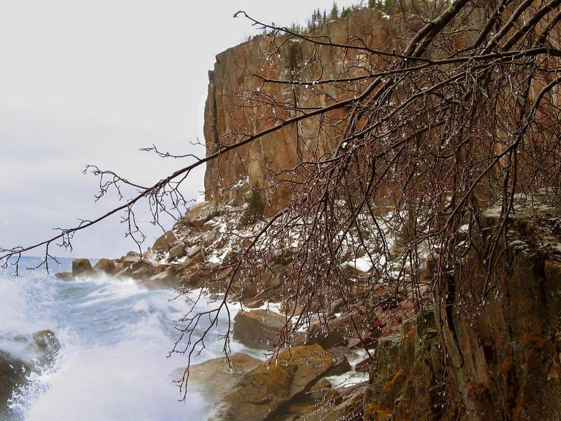Winter at Palisade Head.