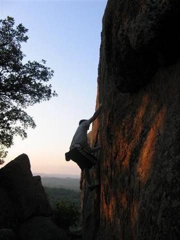 Sunrise ascent of Little Feat