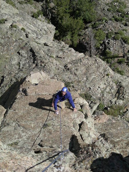 """Richard leaving """"The Perch"""", starting pitch 3."""
