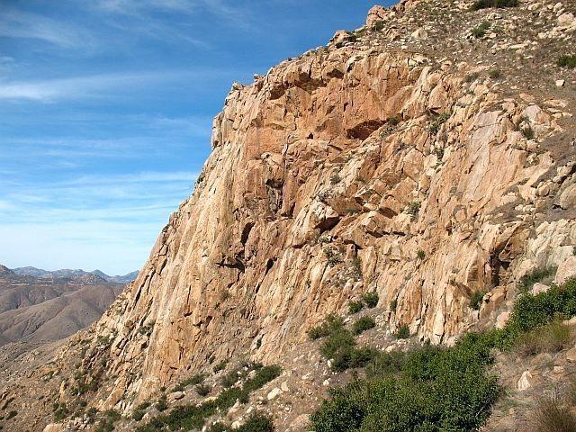 Eagle Peak, San Diego County