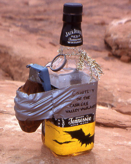 We found THIS on top of Mexican Hat.   Photo; Todd Gordon