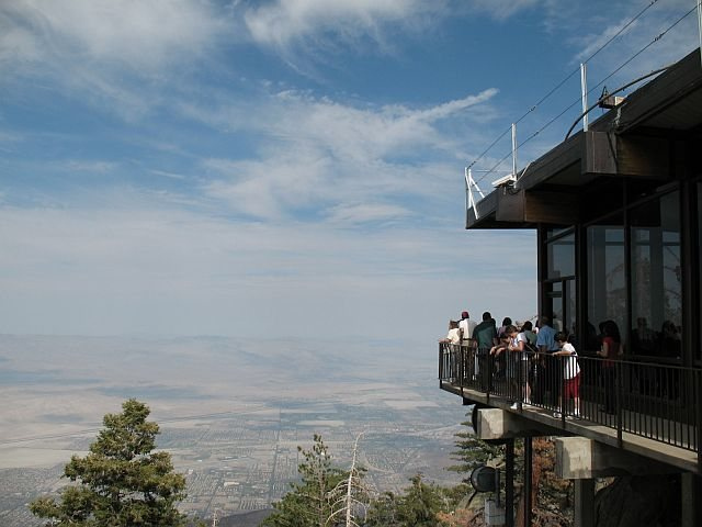 Mountain Station (elevation 8516'/2596 m), Tramway