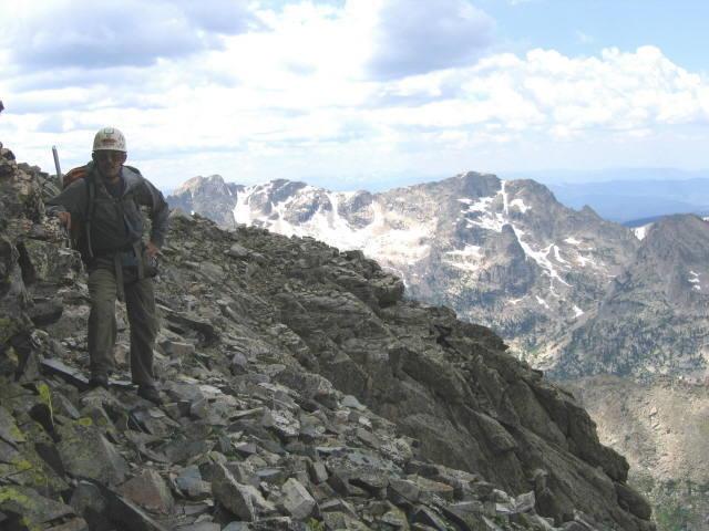 On the big ledge, Mount Toll N ridge