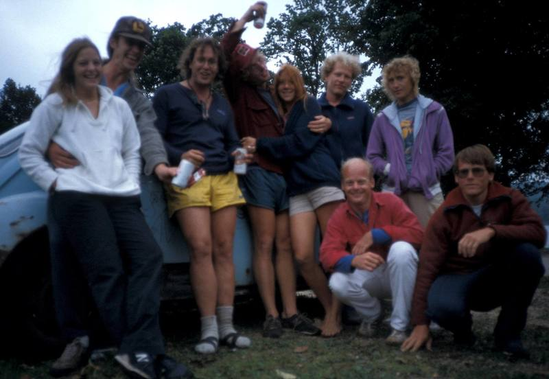 Clubbers approx. circa 1985 ?