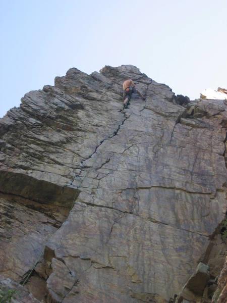 Goodro's Wall. Great climb.