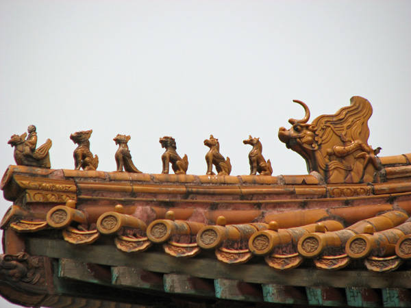 Roof in the Forbidden City
