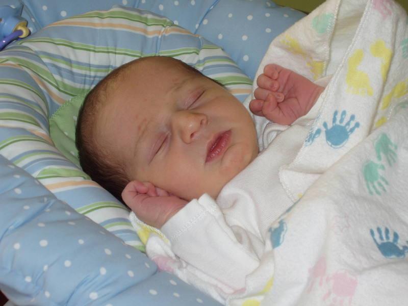 JP, 7 days old