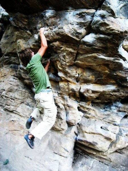 Jake Whittle, once again, at Settler's Rock