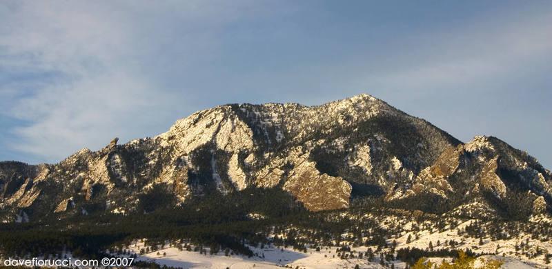 Bear Mountain and Devil's Thumb.