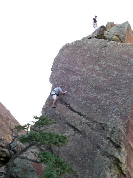 The west ridge approach
