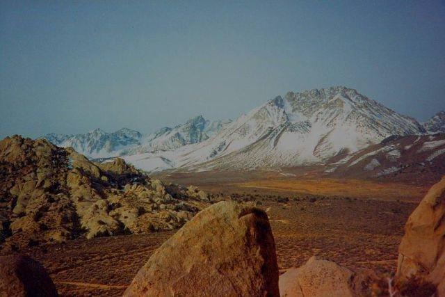 Basin Mountain from the Buttermilks, Sierra Eastside
