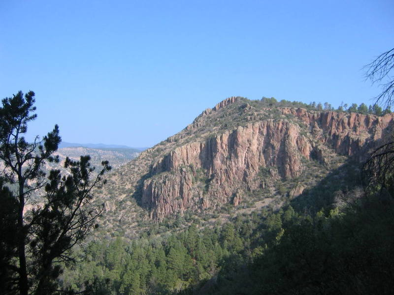 A view from the South Cliffband (looking back at where the beta photo was taken from).