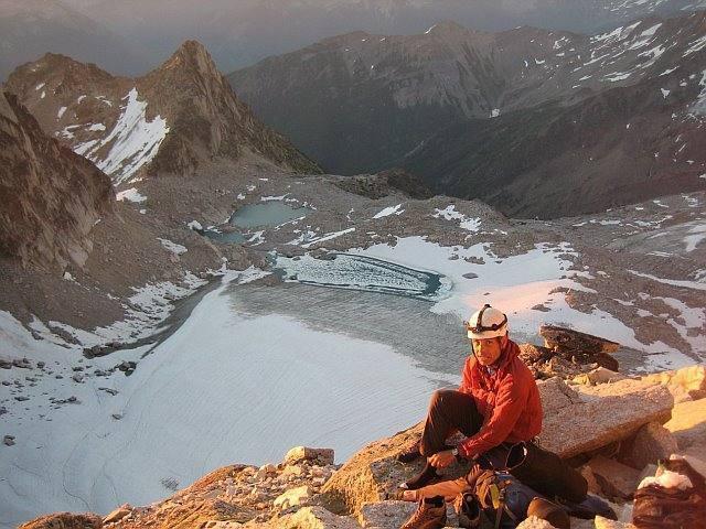 Morning light on the ridge