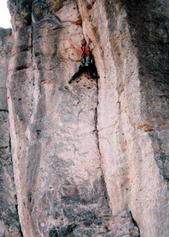 Unknown climber on Boy What Nice Fellows-5.9